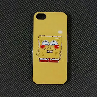 custom case spongebob