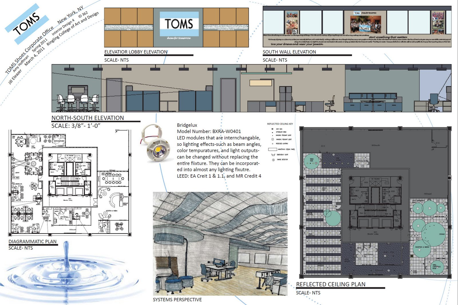 Toms Shoes Corporate Office Interior Design 4 Project Spring 2010