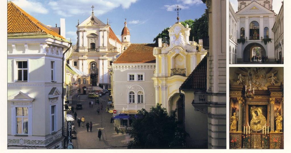 World on Postcards: Lithuania / Litwa