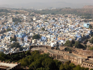 Tejados azules de Jodhpur