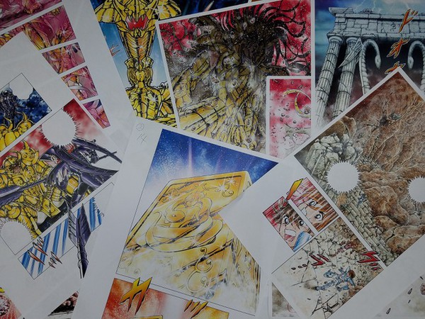 preview Masami Kurumada Shares Saint Seiya Next Dimension Preview, Manga To Returns In September.