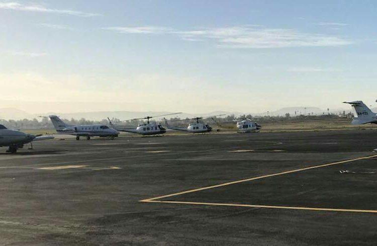Helicópteros de la PGR realizan patrullajes en zonas conflictivas de Tijuana
