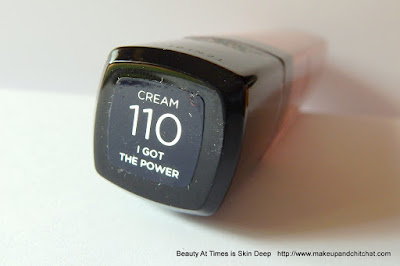 L'Oréal Paris Mega Gloss Cream 110 I Got The Power
