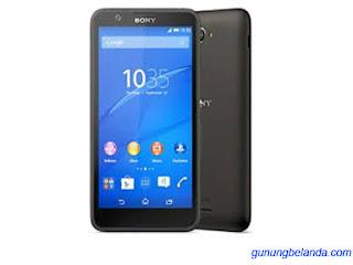 Cara Flashing Sony Xperia E4g Dual E2033