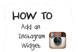 How To Add an Instagram Widget in a Blogger Blog