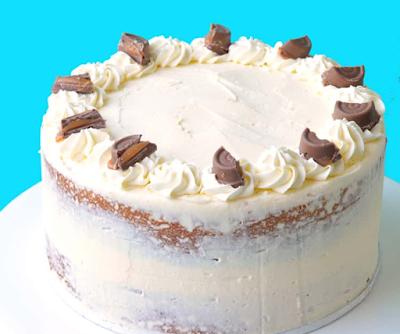CARAMEL MUD CAKE WITH WHITE CHOCOLATE BUTTERCREAM #dessert