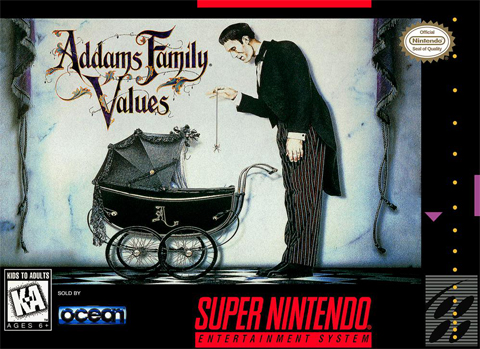 Addams Family Values (SNES)