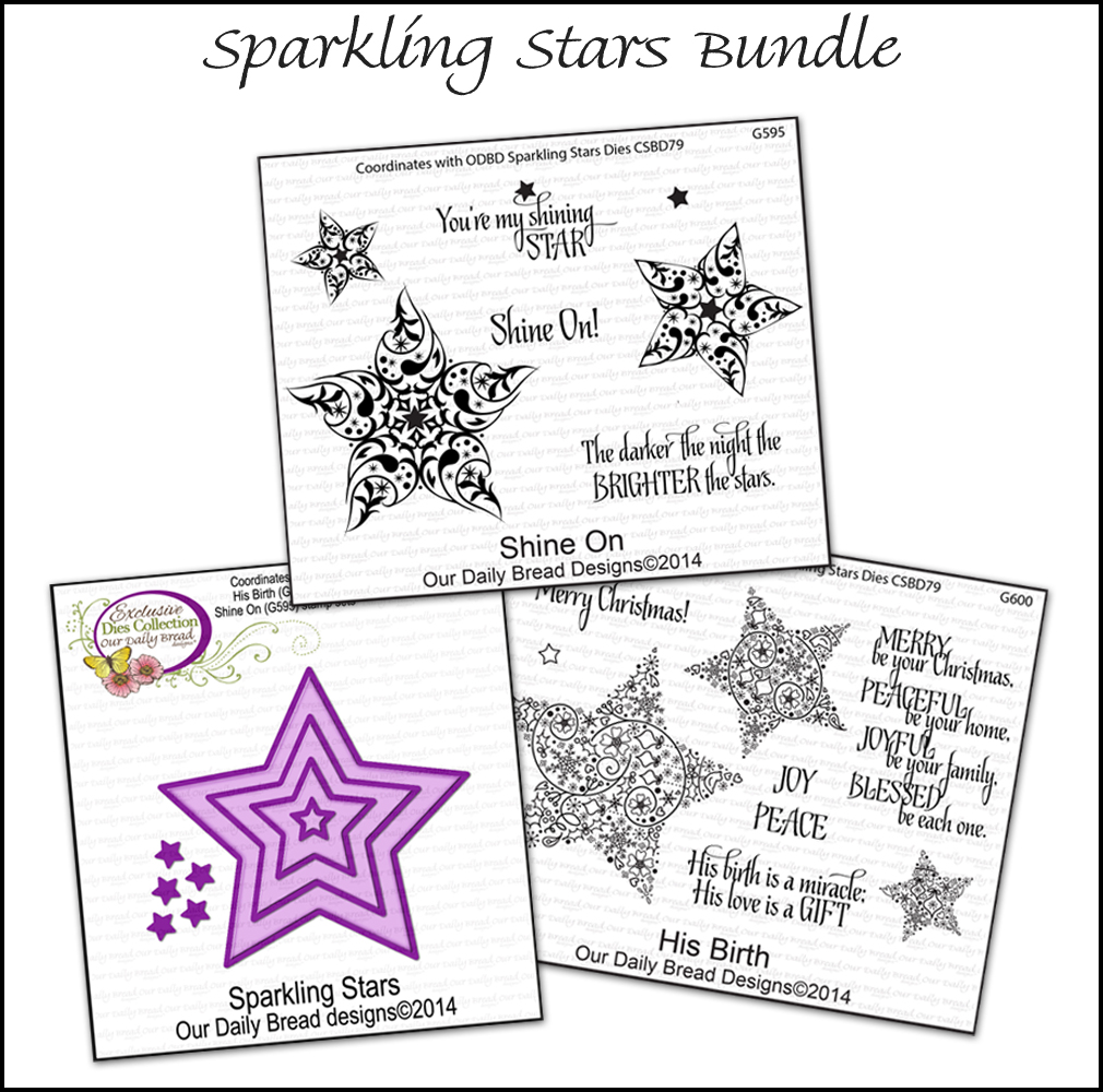 Our Daily Bread Designs November Sparkling Stars Bundle
