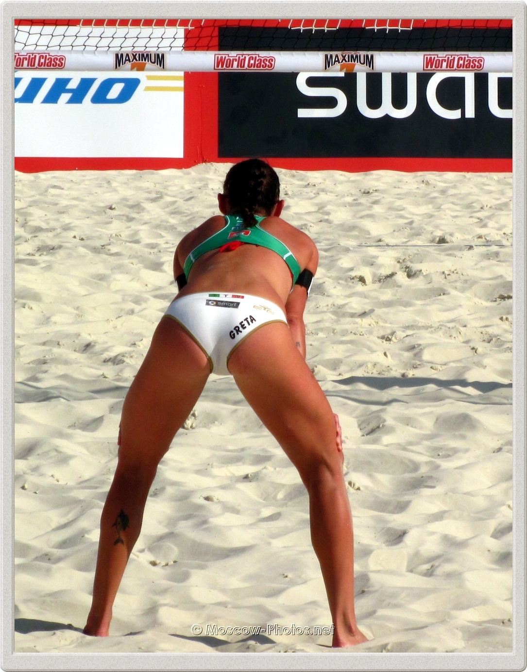 Greta Cicolari from Italian Beach Volleyball Team