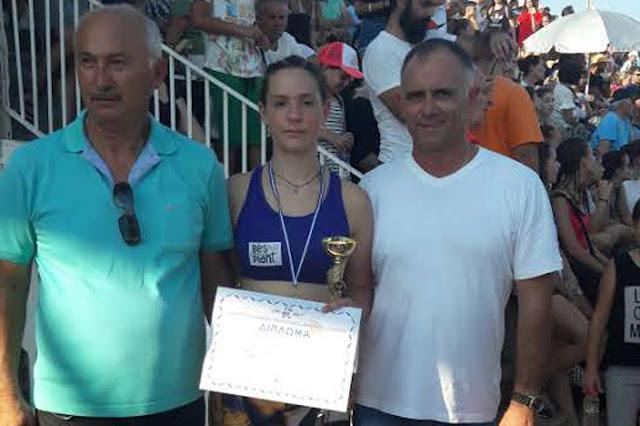 Χρυσό μετάλλιο για την Ελένη Δήμα από την Αργολίδα στη Χαλκίδα