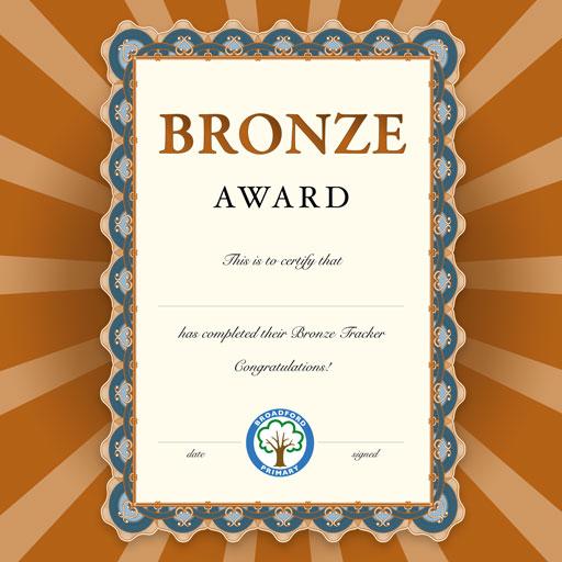 Broadford Primary: Bronze & Silver Tracker Winners