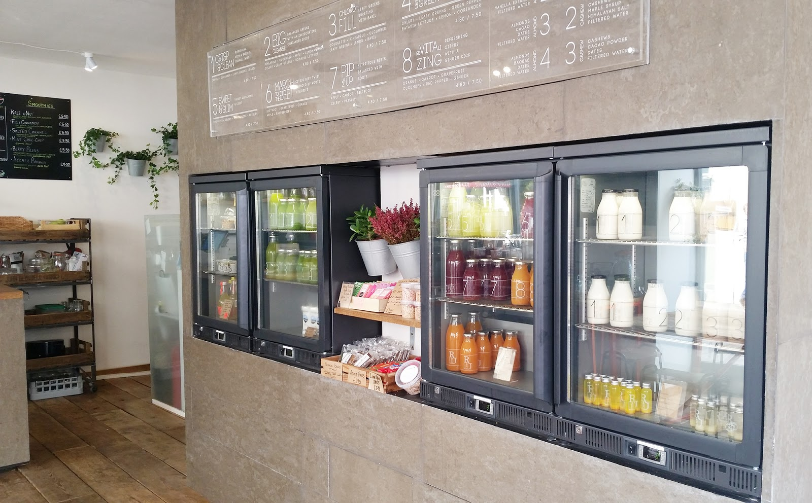 Roots Juicery juice bar Fitzrovia London review