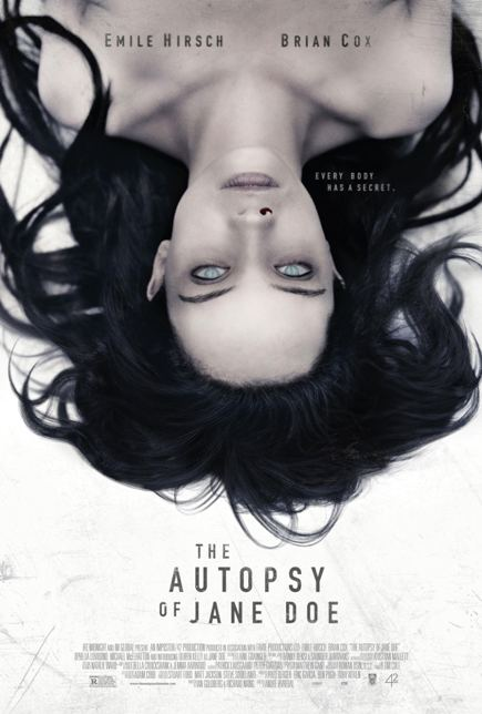 THE AUTOPSY OF JANE DOE (2016) movie review by Glen Tripollo
