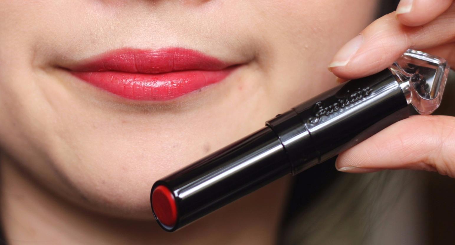 Guerlain petite robe noire lipstick review