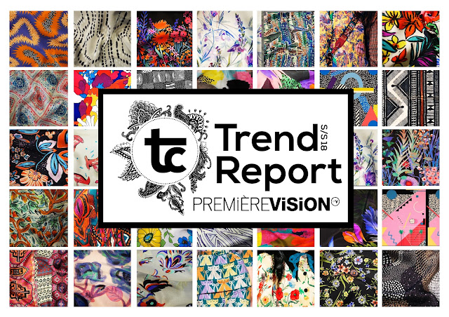 Textile Candy, Premiere vision, trend report, trend forecasting, Spring/Summer 2018, SS18