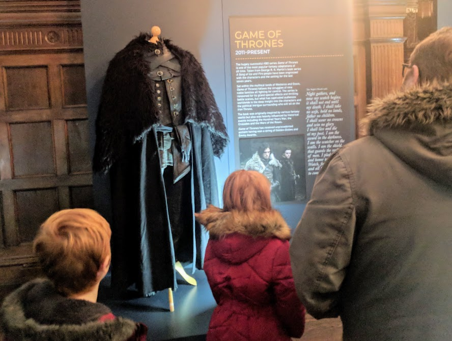 Preston Park - Behind the Seams | 10 reasons to visit with tweens and teens  - 'Game of Thrones - Jon Snow's Costume