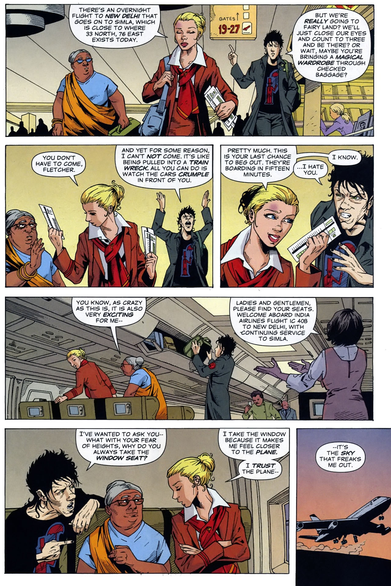 Read online Air comic -  Issue #2 - 17