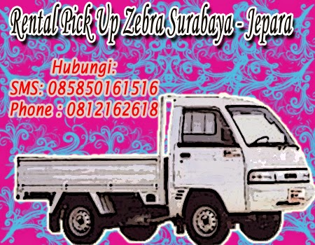 Rental Pick Up Zebra Surabaya - Jepara