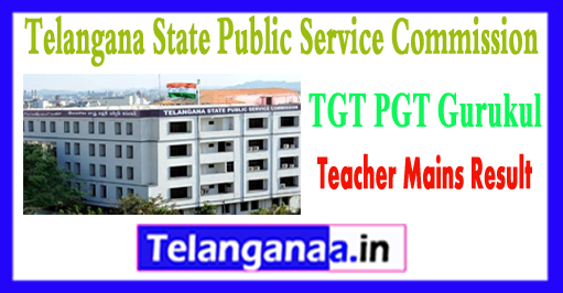 TSPSC TGT PGT Gurukul Teacher Mains 2018 Answer Key