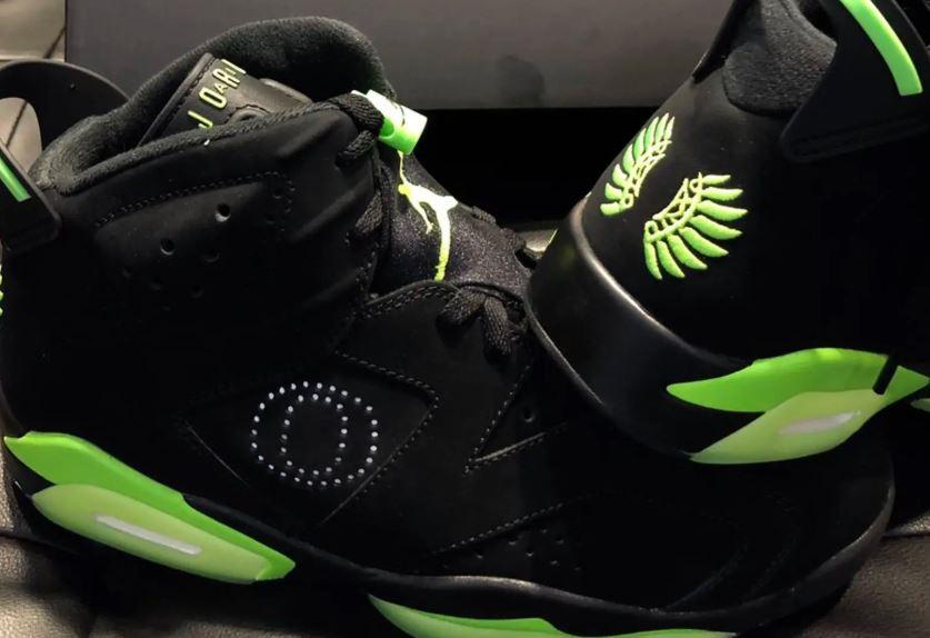 sports shoes 09efa 9e967 THE SNEAKER ADDICT: Air Jordan 6 Oregon Ducks Retro PE ...