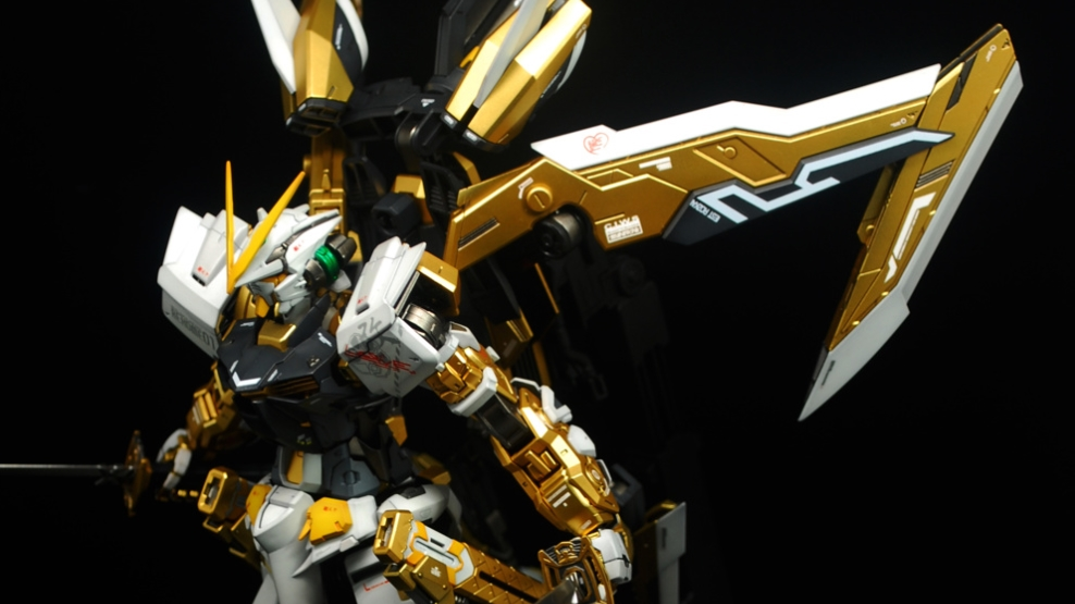 Painted Build: MG 1/100 Gundam Astray \