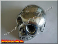 foundry sand casting small skull