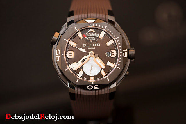 Clerc Hydroscaph Gmt Power Reserve Chronometer