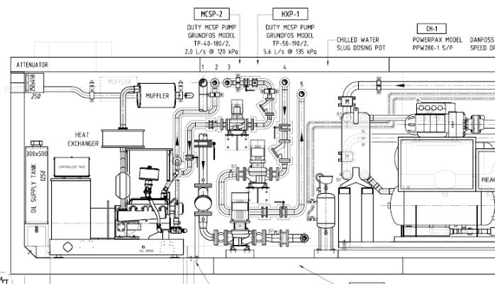 hvac drawings vrf equipment schedule