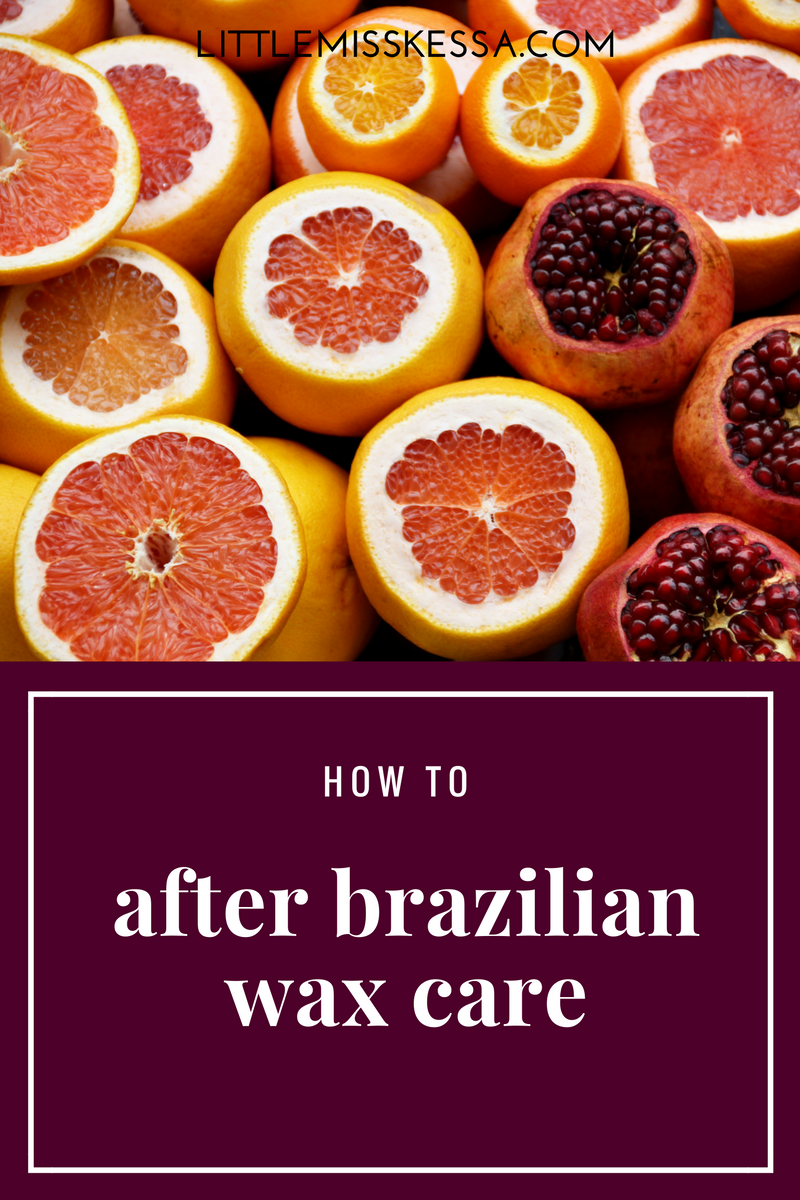 AFTER BRAZILIAN WAX CARE - A Day In The Life Of This Miss