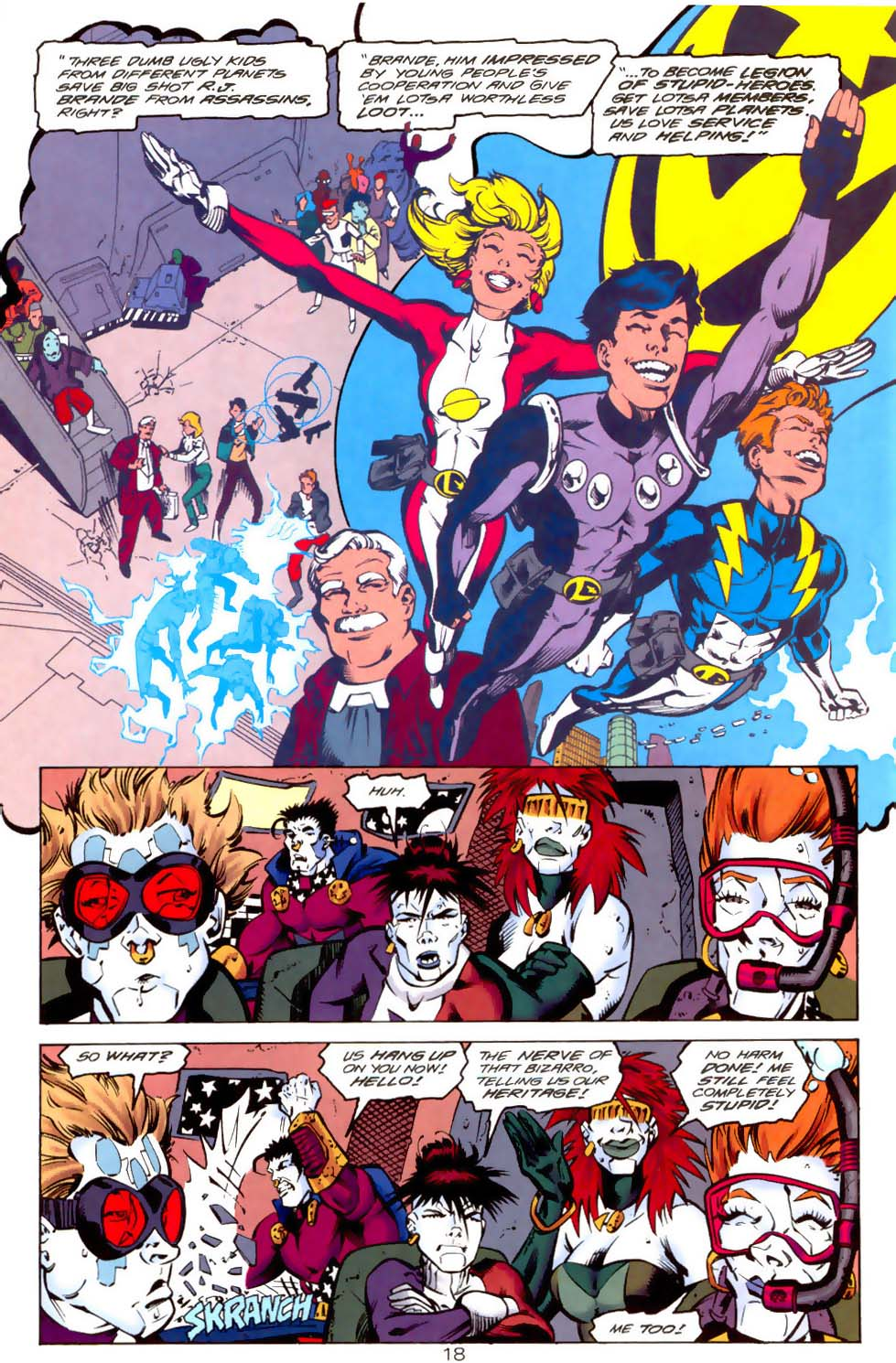 Legion of Super-Heroes (1989) 114 Page 18