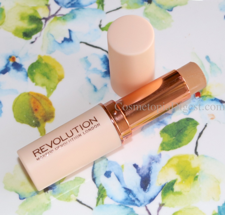 Review and demo of the Makeup Revolution Fast Base Foundation Stick, the best budget makeup of 2018.