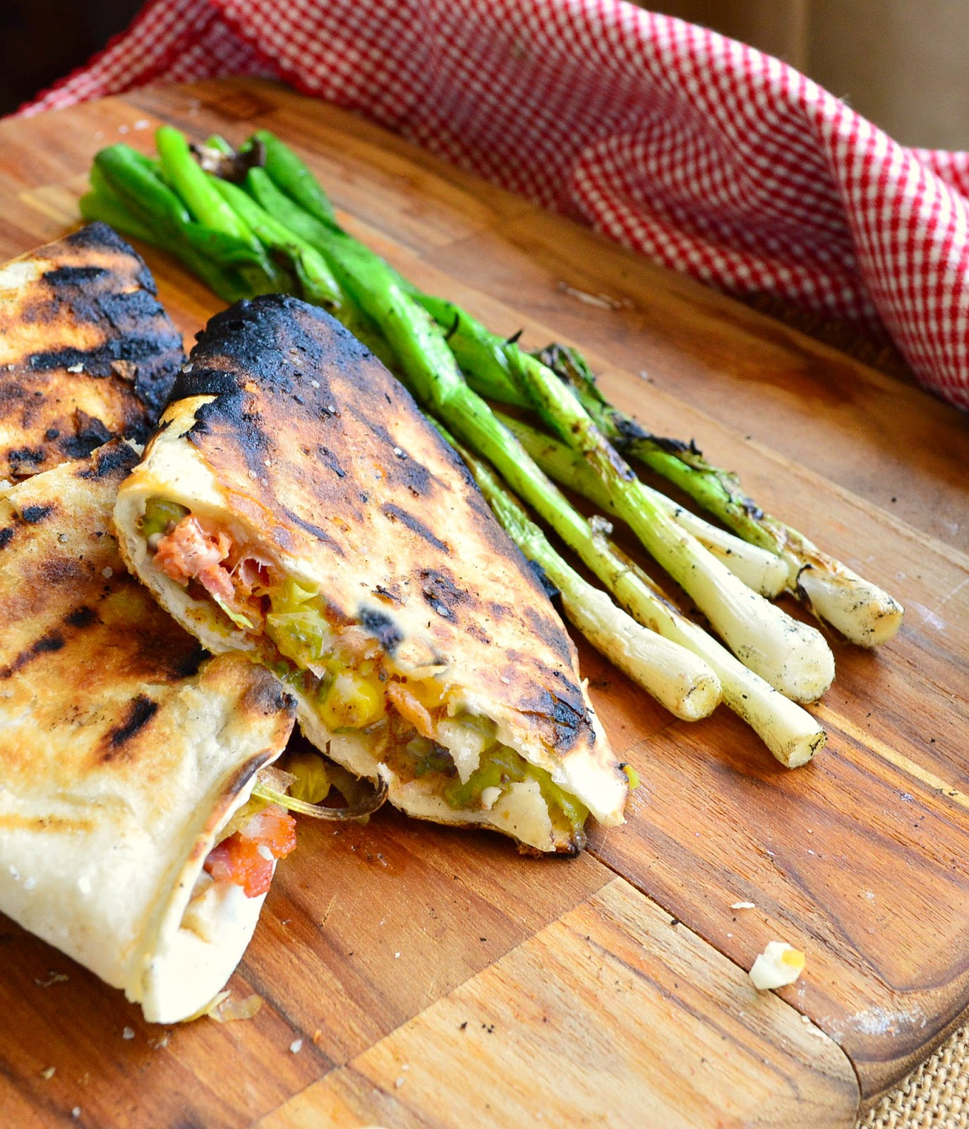 Grilled Cheese Quesadillas Recipe — Dishmaps