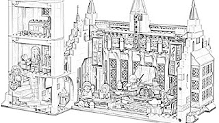 Harry Potter Hogwarts coloring pages coloring.filminspector.com