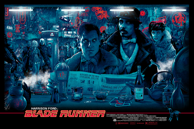 Blade Runner Movie Poster Regular Edition Screen Print by Vance Kelly x Hero Complex Gallery