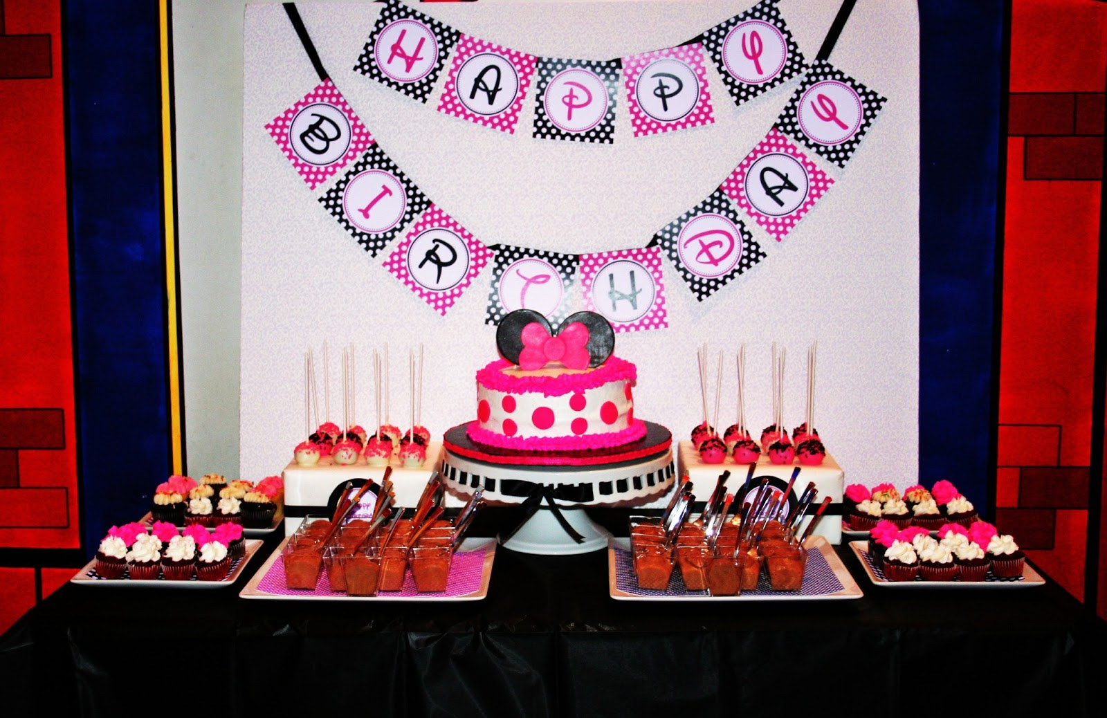 Sweet Treats Carousel Minnie Mouse Birthday Party