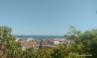 Vista da cidade de Itanhaém