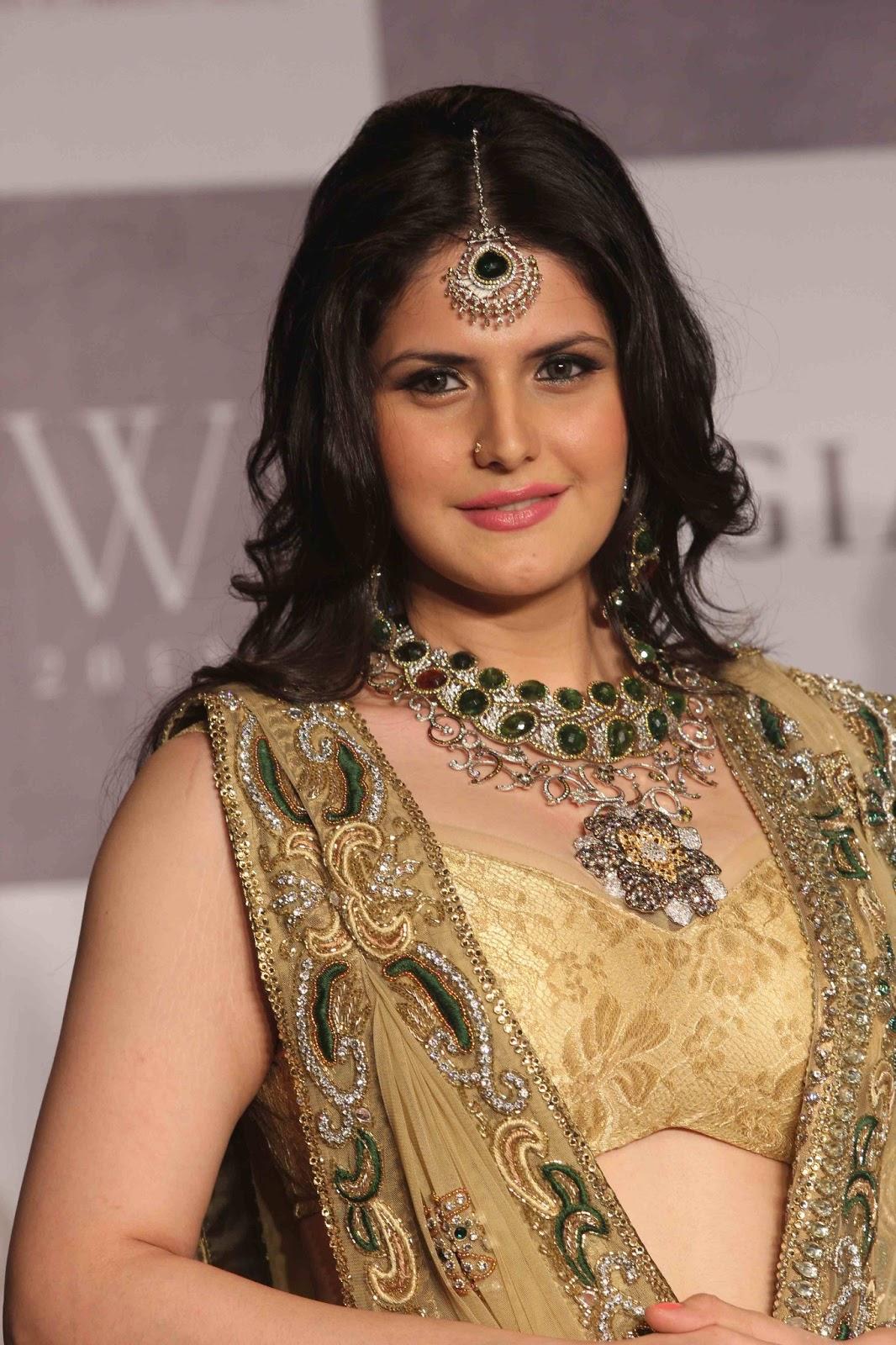 Zarine khan at iijw