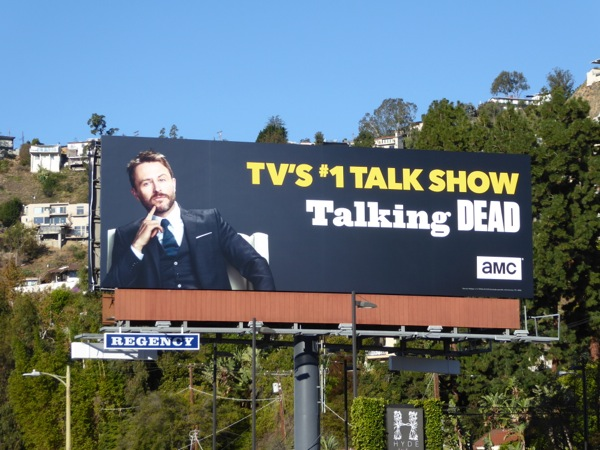 Chris Hardwick Talking Dead 2016 billboard
