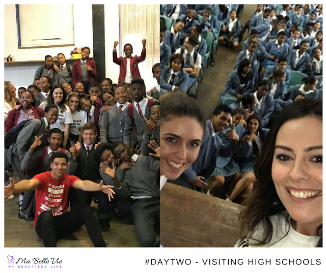mission inspire, South Africa, Cape Town, travel, world changers, children, visiting high schools
