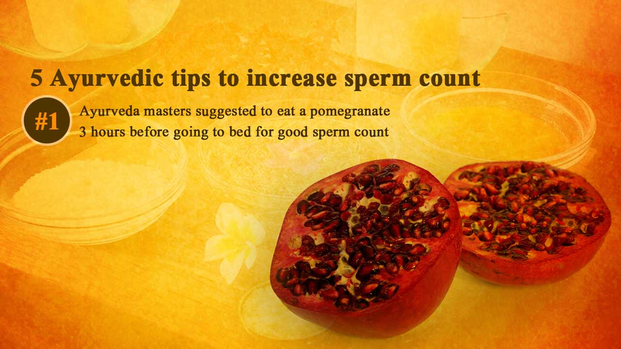 Herbs and Plants for Healthy Semen and Sperm Count