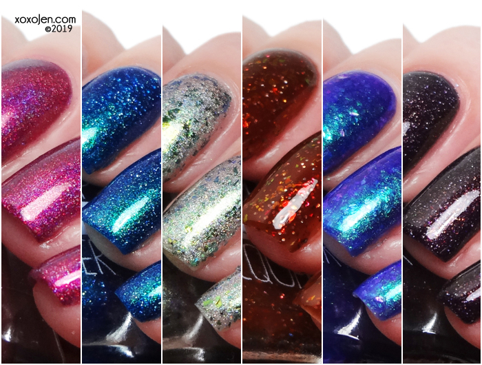xoxoJen's swatch of Lollipop Posse Halloween 2019