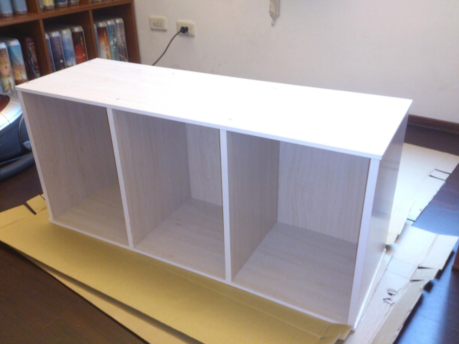 十個三層櫃 = 新床架 | 大朵Sandy