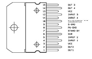 Electronic Components Crazy Fans: Diagram Block IC TDA7377