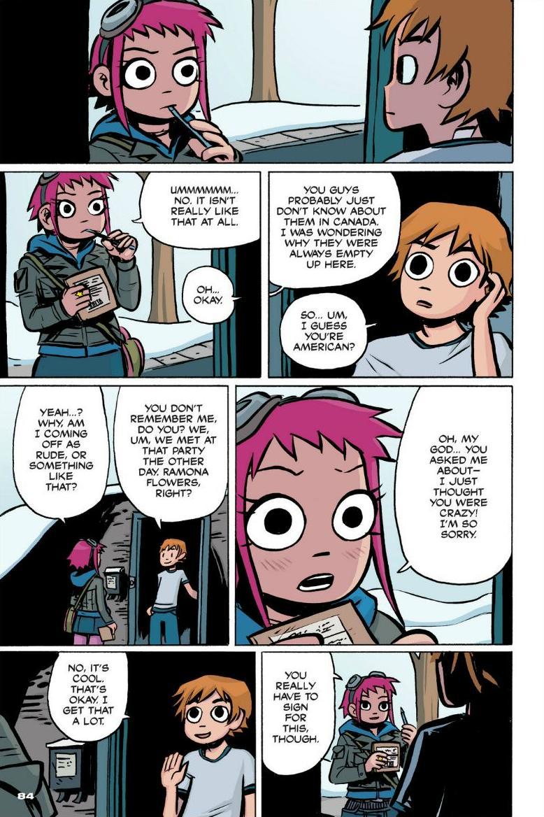 Read online Scott Pilgrim comic -  Issue #1 - 76