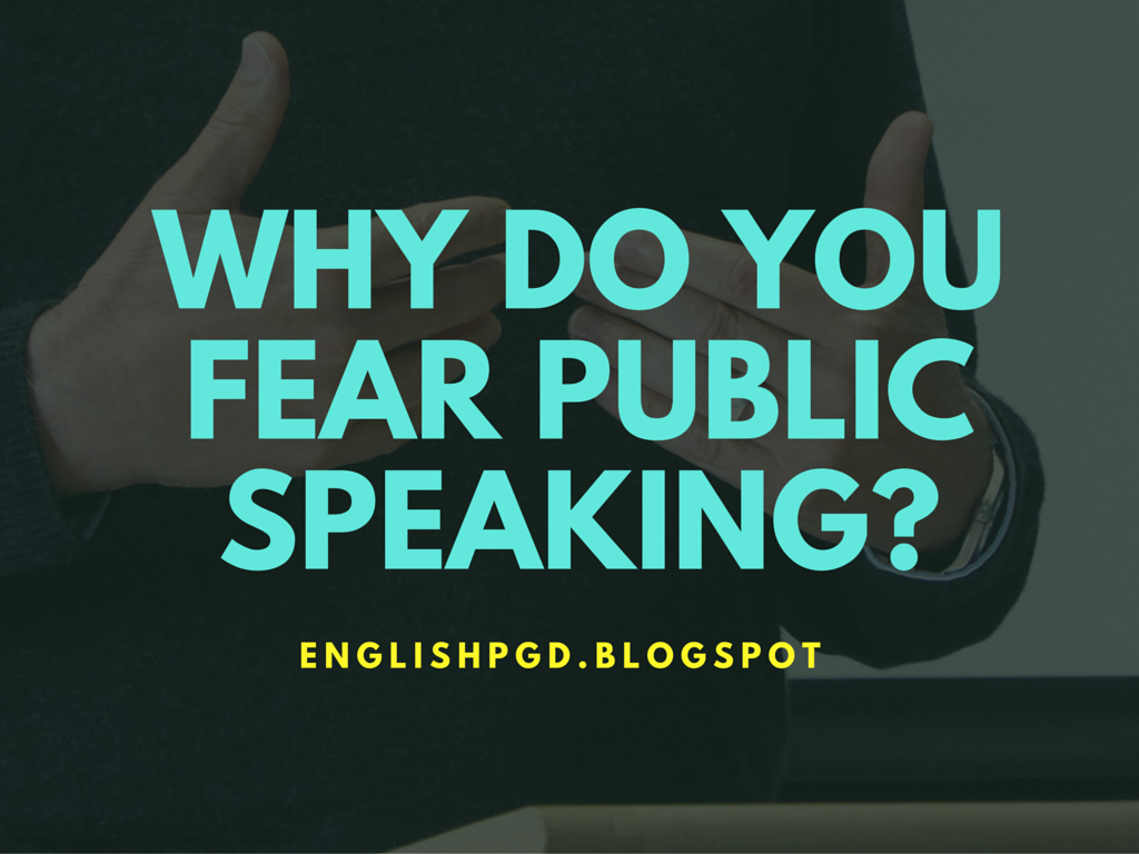 overcoming fear public speaking essay