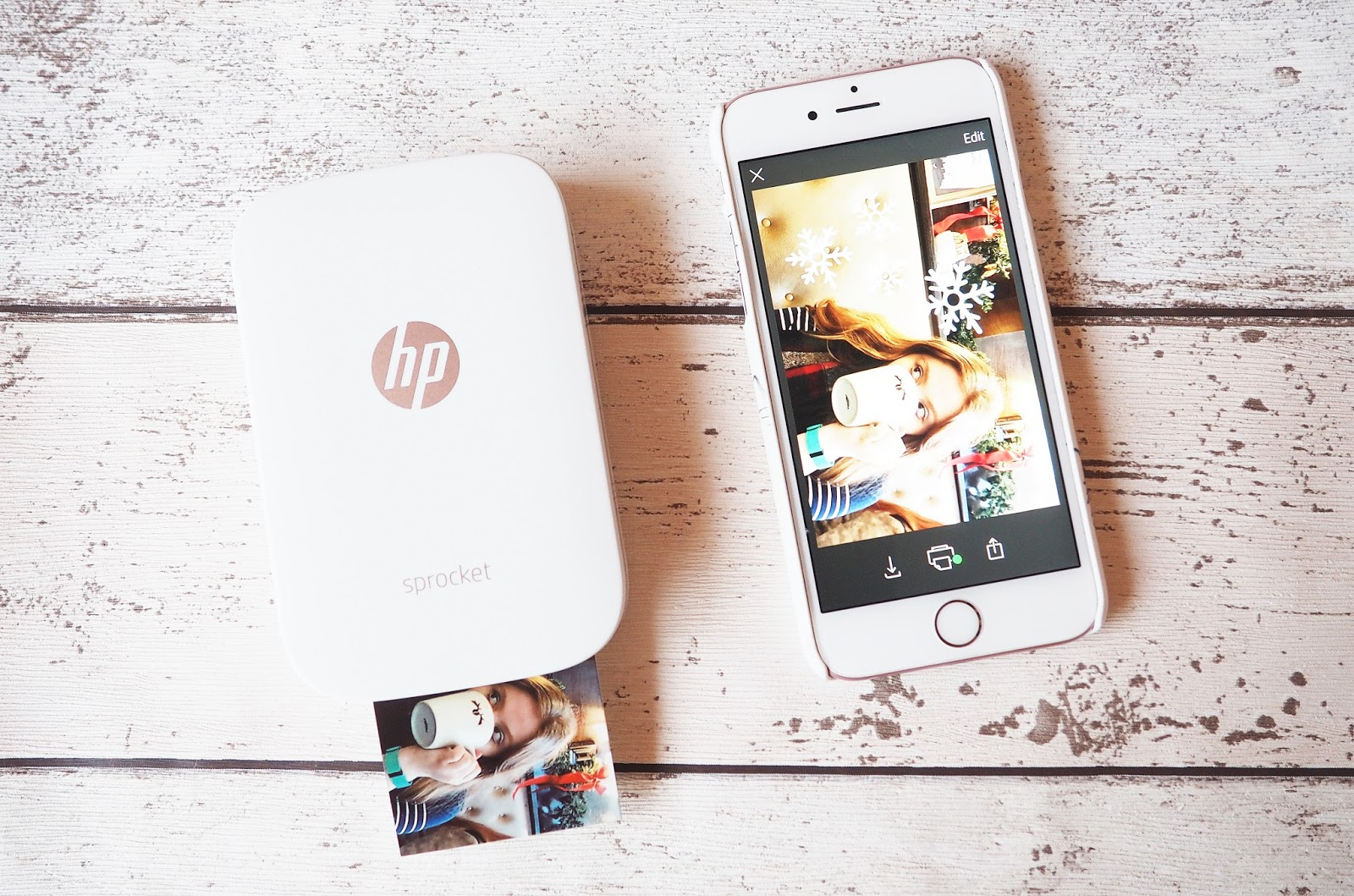 HP Sprocket Inkless Printer
