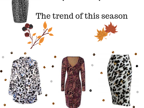 Leopard print - the trend of this season