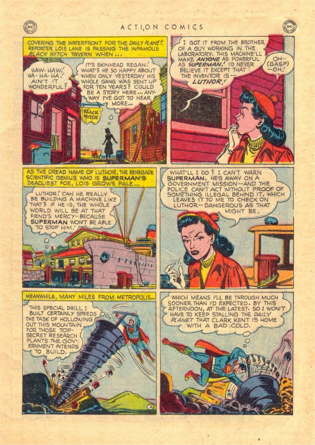 Read online Action Comics (1938) comic -  Issue #156 - 3