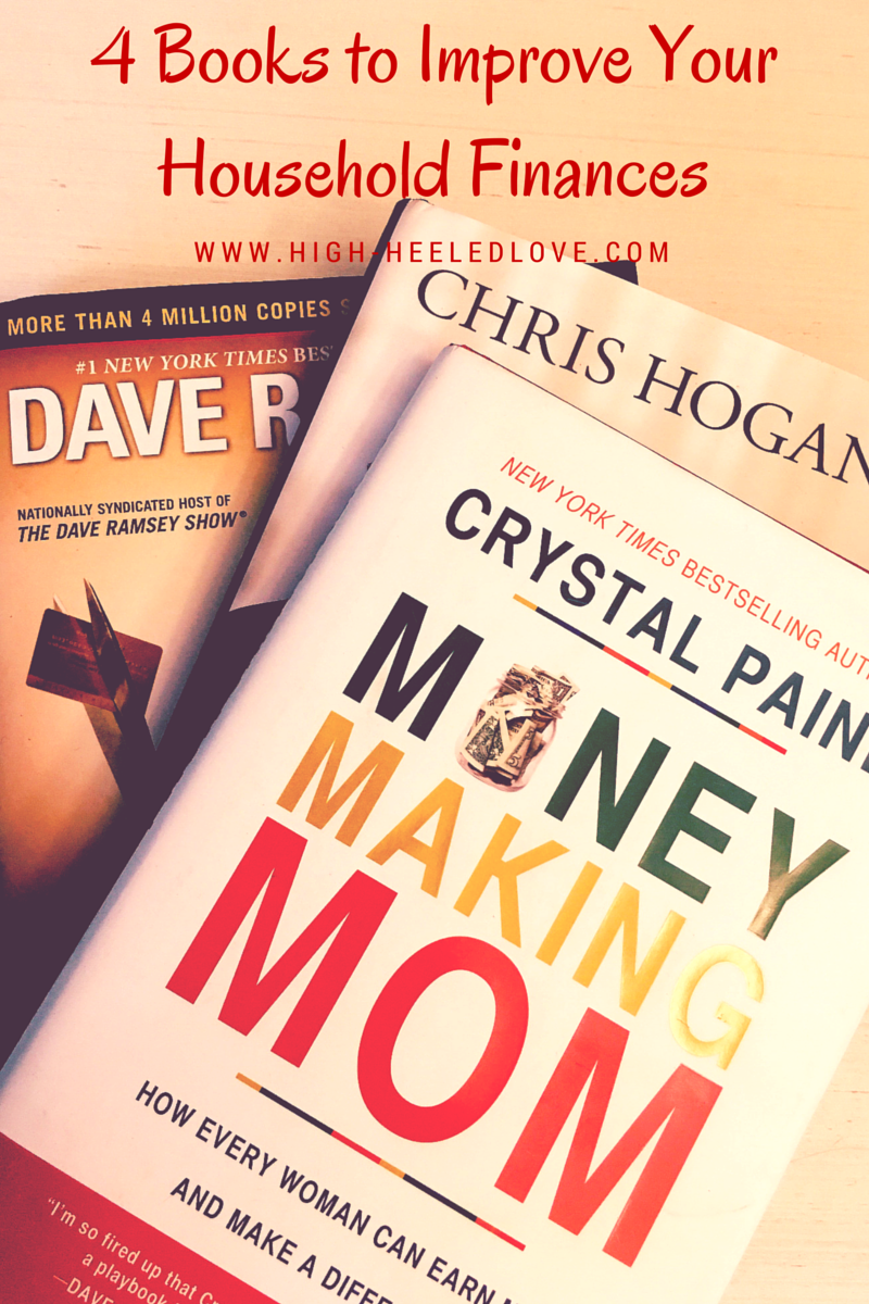 If you want to take control of your household's finances, you'll want to check these four financial books out.