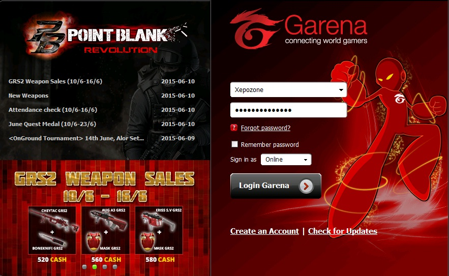 Download Game Point Blank Garena Untuk Laptop Dan